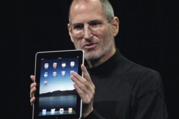 Steve Jobs med iPad