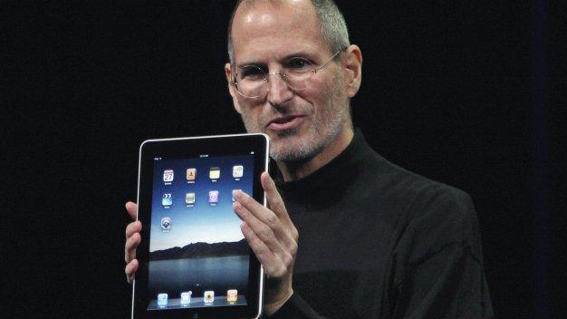 Steve Jobs med iPad