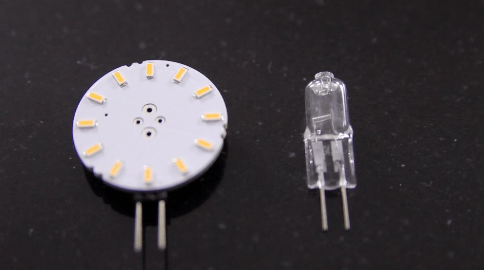 Kan man lave en halogen lampe om til en LED lampe med succes?
